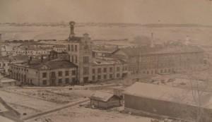 Кожевенный комбинат в Вахрушах (1940 год)