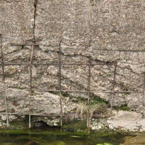 Развалины дамбы (июнь 2011 года)
