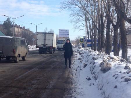 Одиночный пикет против строительства свалки