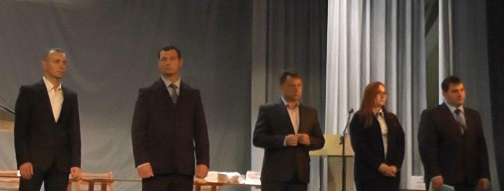 Голосование за кандидатов на пост главы посёлка